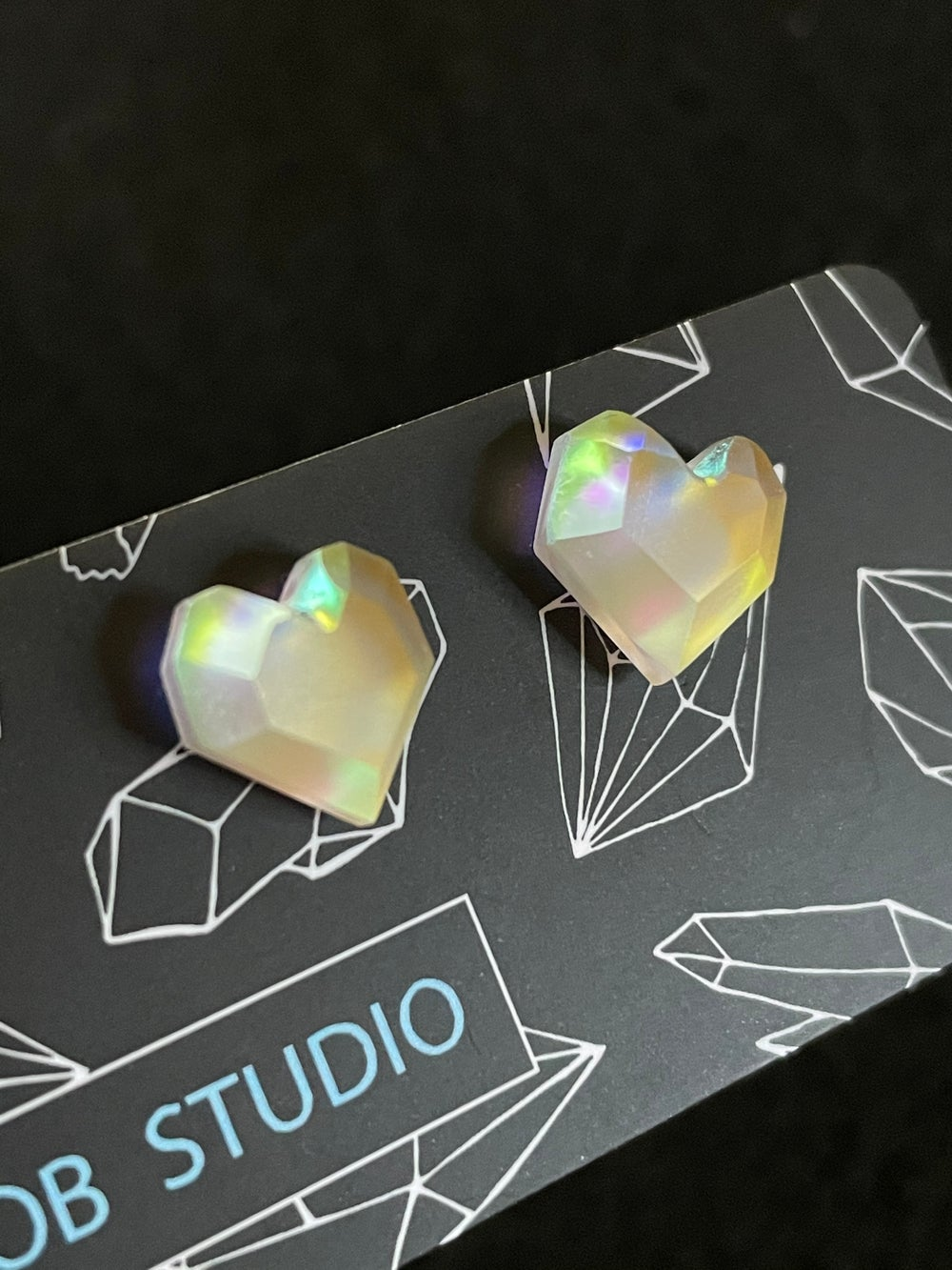 Image of Royal Lux Heart Studs
