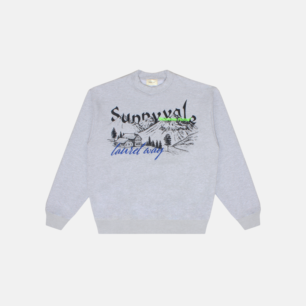 Image of SUNNYVALE MOUNTAINS CREWNECK