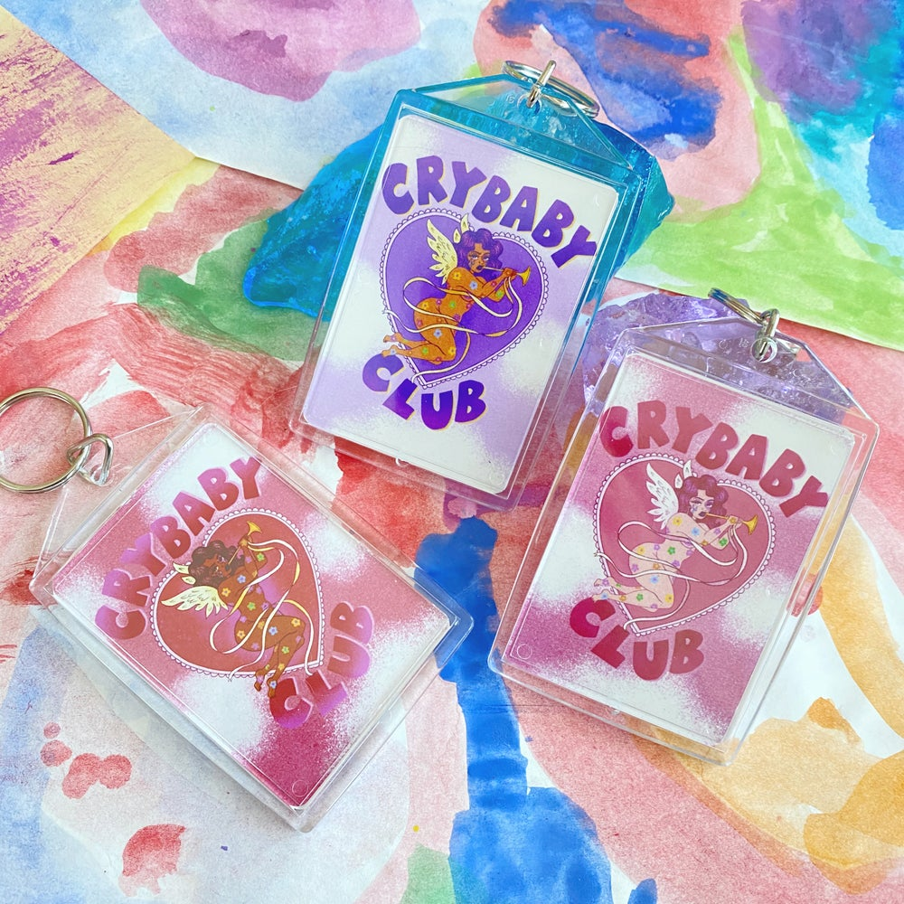 Image of CRYBABY CLUB KEYCHAINS