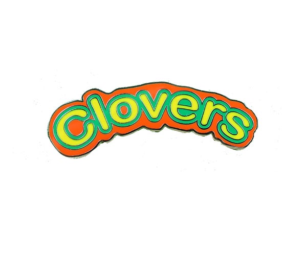 Image of Clovers Cheerleading Hard Enamel Pin