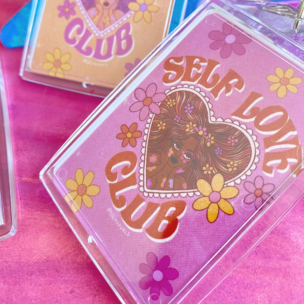 Image of SELF LOVE CLUB KEYCHAINS