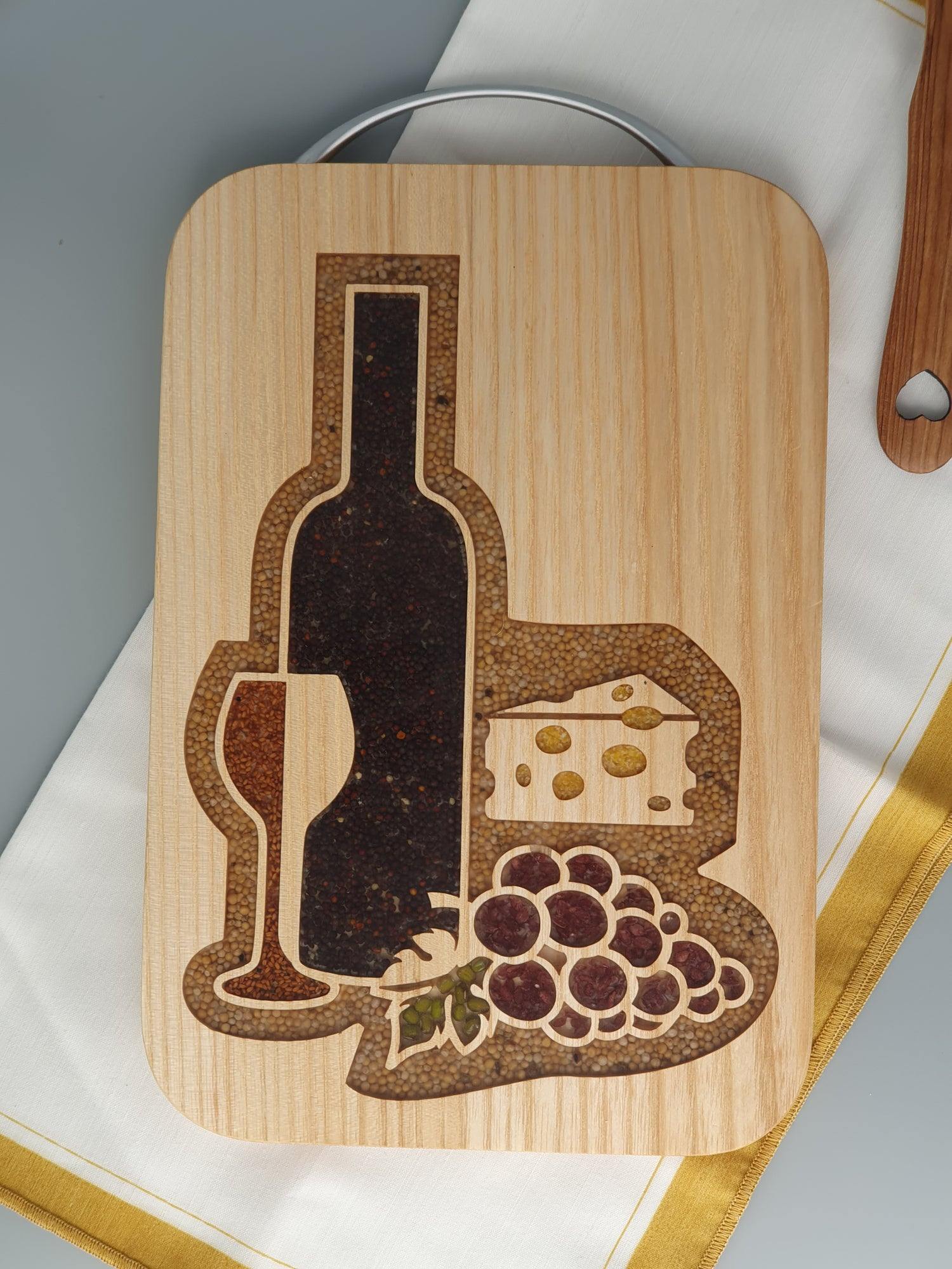 Image of Cheese and wine board