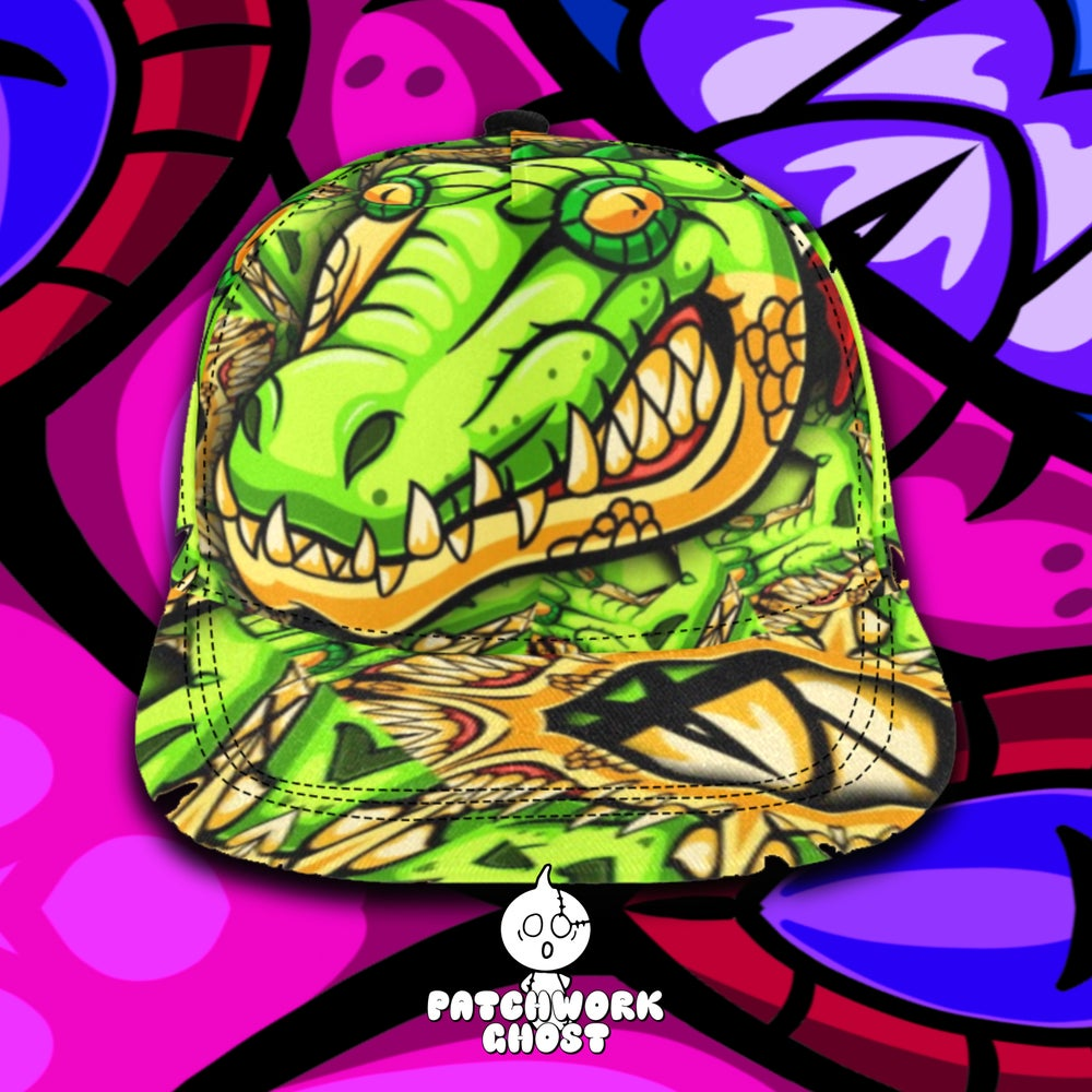 Image of Later Gator All Over Print Snapback