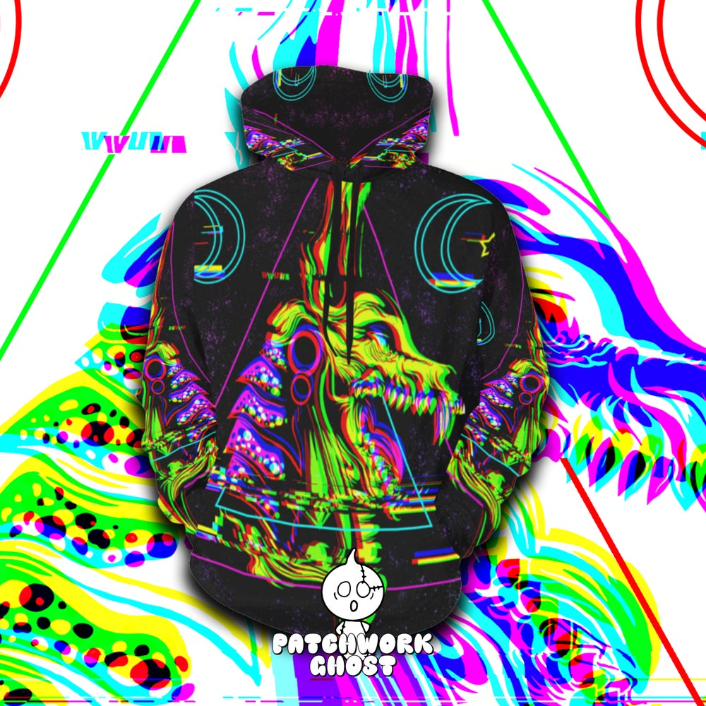 Image of Anubis All Over Print Hoodie