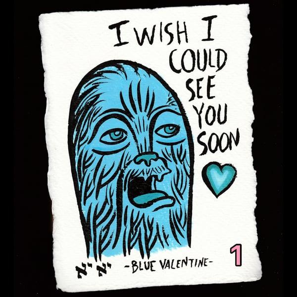 Image of Original Art! Blue Valentine (IWICSYS)