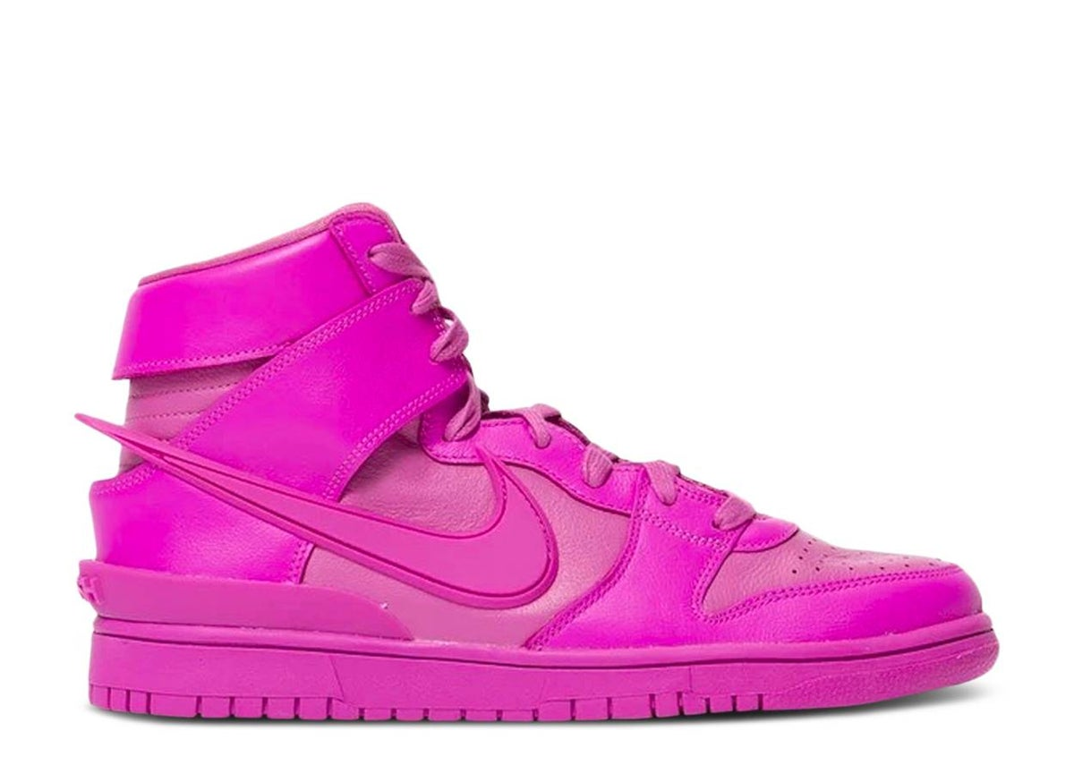 Image of AMBUSH X DUNK HIGH 'COSMIC FUCHSIA'