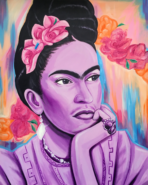 Image of Forever Frida (Acrylic Painting)