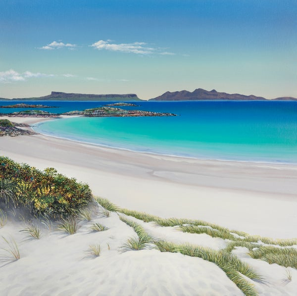 Image of Sandy toes Camusdarach giclee print