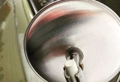 Image of Splitscreen Convex Mirror - Unpolished