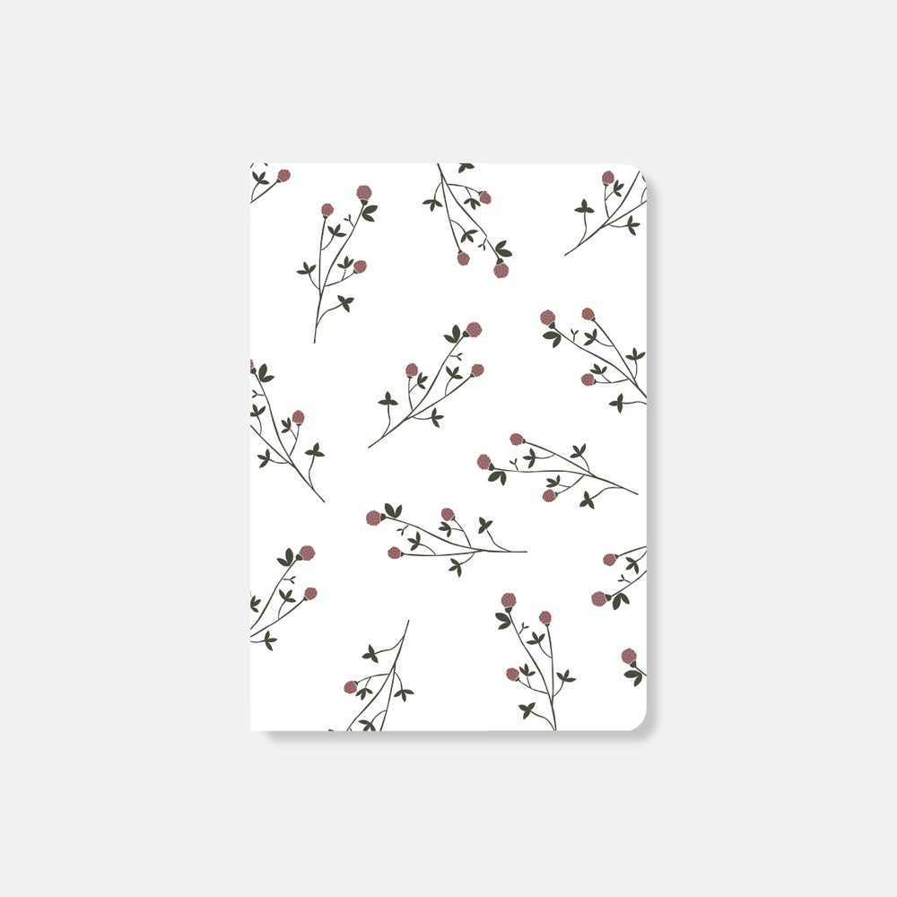 Image of Red clover Notebook