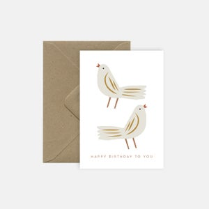 Image of Birthday birds