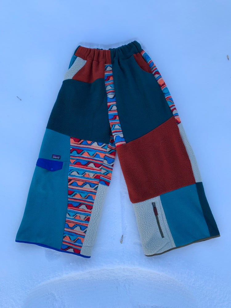 Image of Reclaimed Patagonia Synchilla Zen Spinner Pants