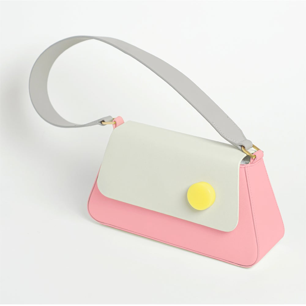Alice Flap shoulder bag • PEACH