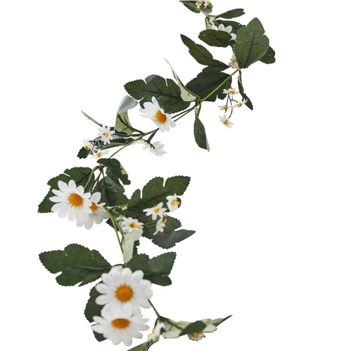 Image of Pretty Faux DAISY FLORAL  GARLAND