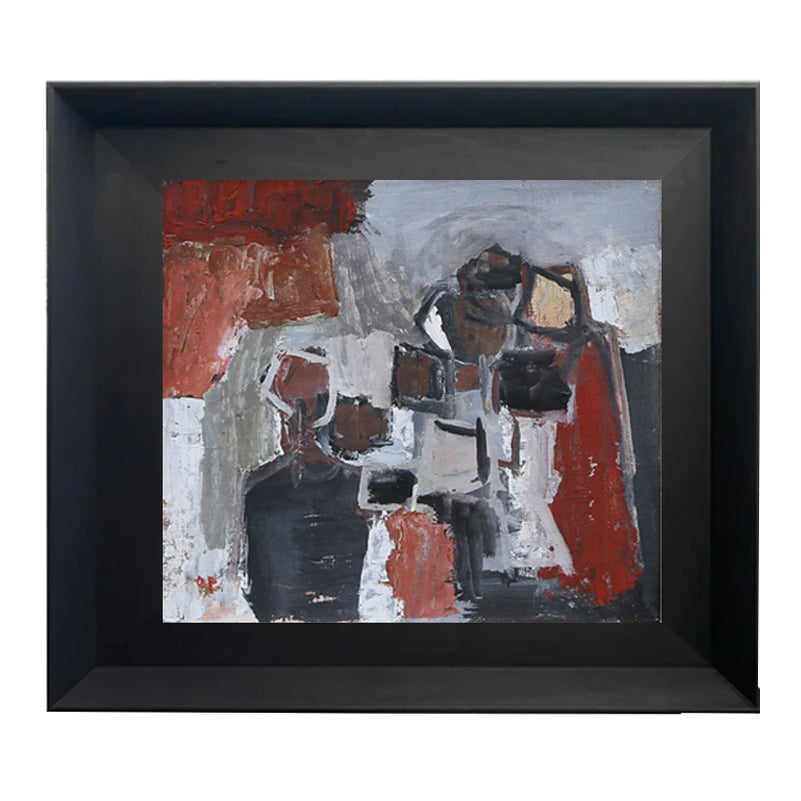 Image of 1964, Swedish, Abstract, Oil Painting, Olof Persson