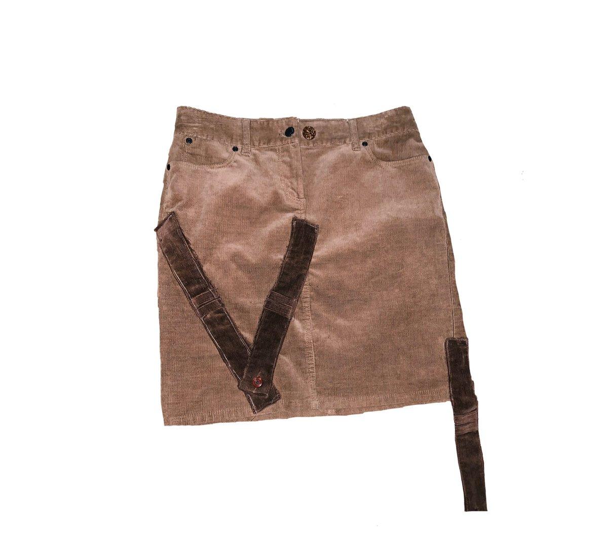 1 of 1 Chocolate/Caramel Skirt