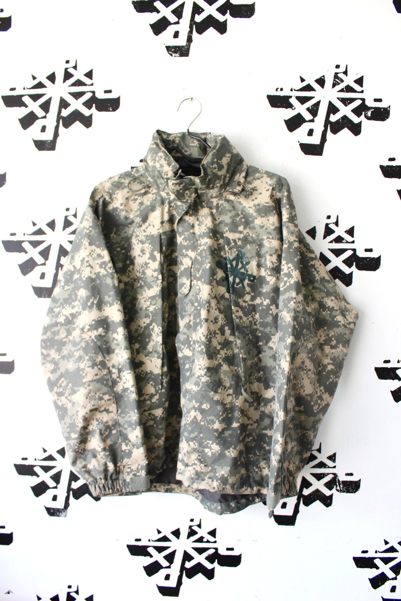 Image of really everywhere rain coat in camo
