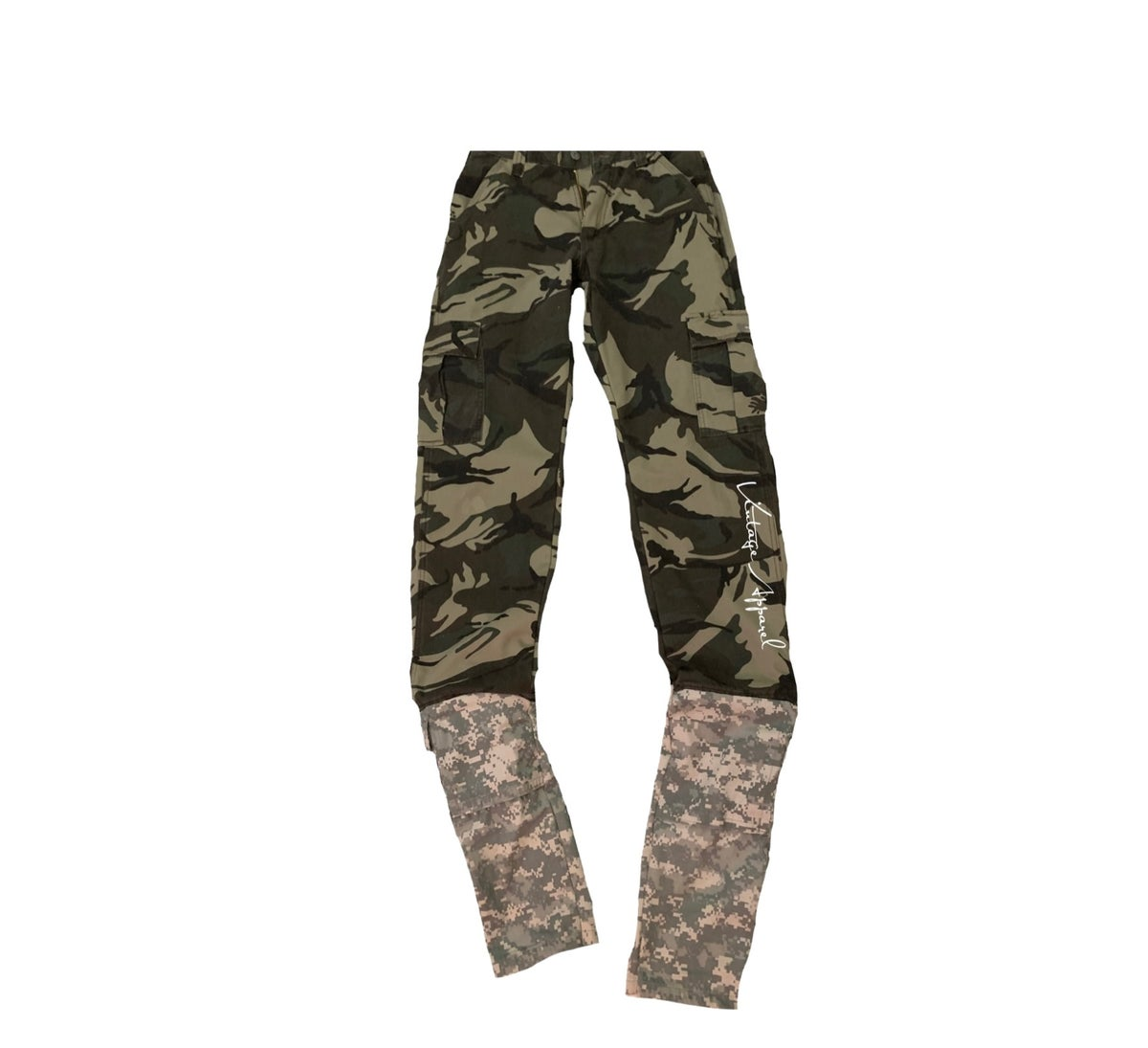 1 of 1 Stacked Camo Pants
