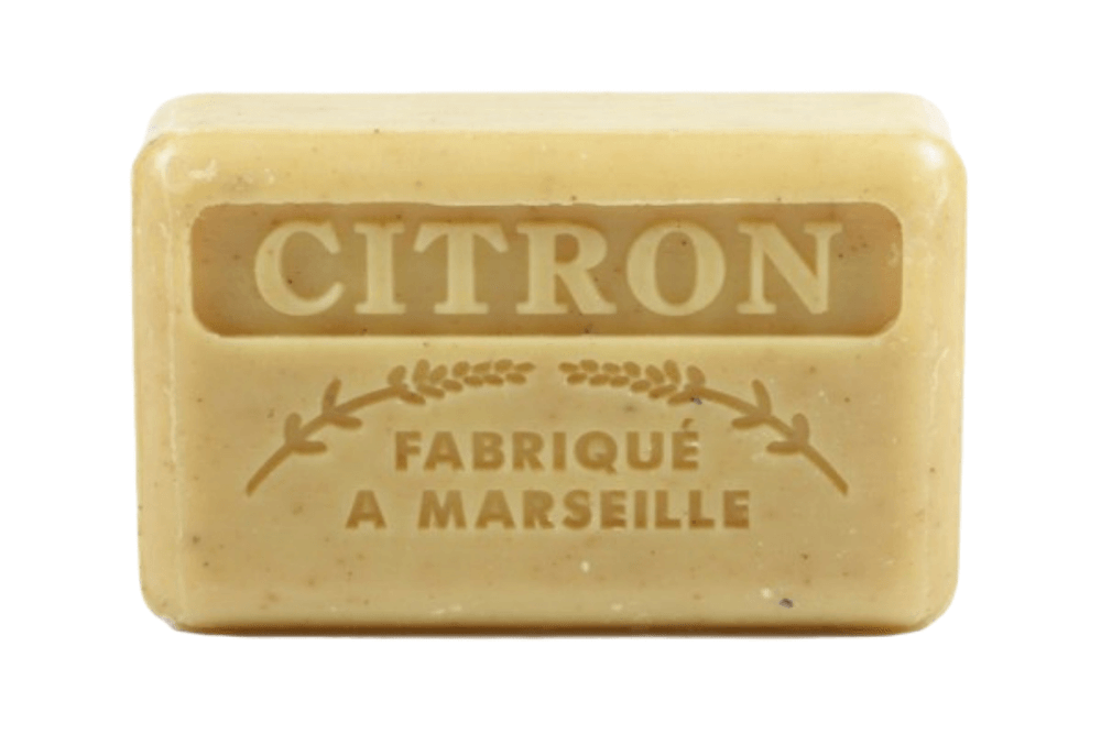 Image of Crushed LEMON Marseille French Soap