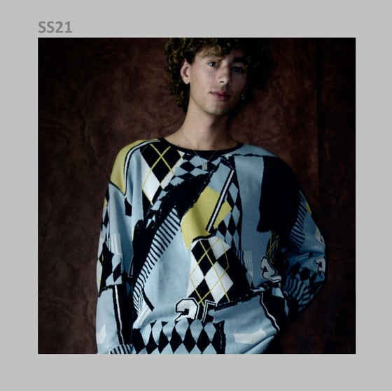 Image of SS21 - OVERSIZE FINE SWEATER/2