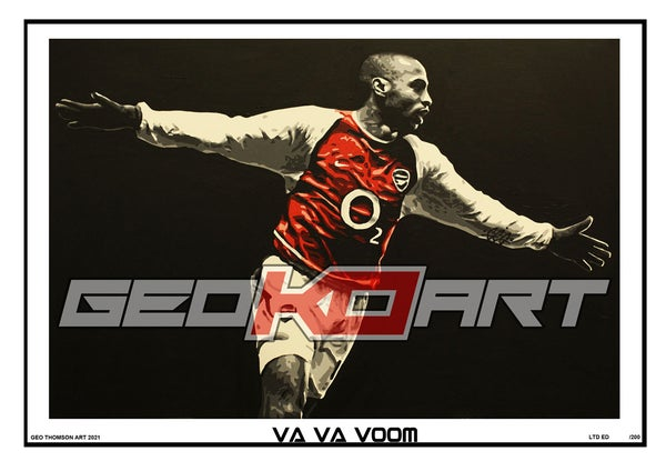 Image of THIERRY HENRY ARSENAL