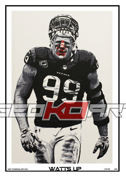 Image of JJ WATT HOUSTON TEXANS 99