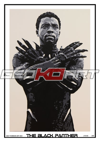 Image of THE BLACK PANTHER