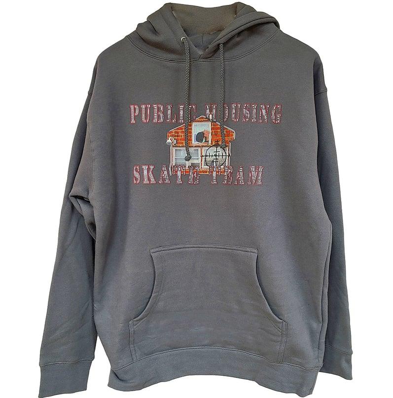 """Image of Dark Grey (PHST) """"Grandma hoodie"""""""
