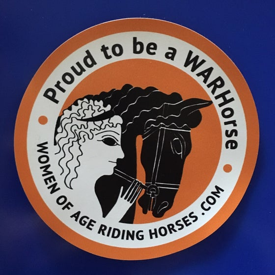 Image of Proud to Be a WARHorse Magnet
