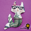 Hipster Mer-cats Charm 🐱