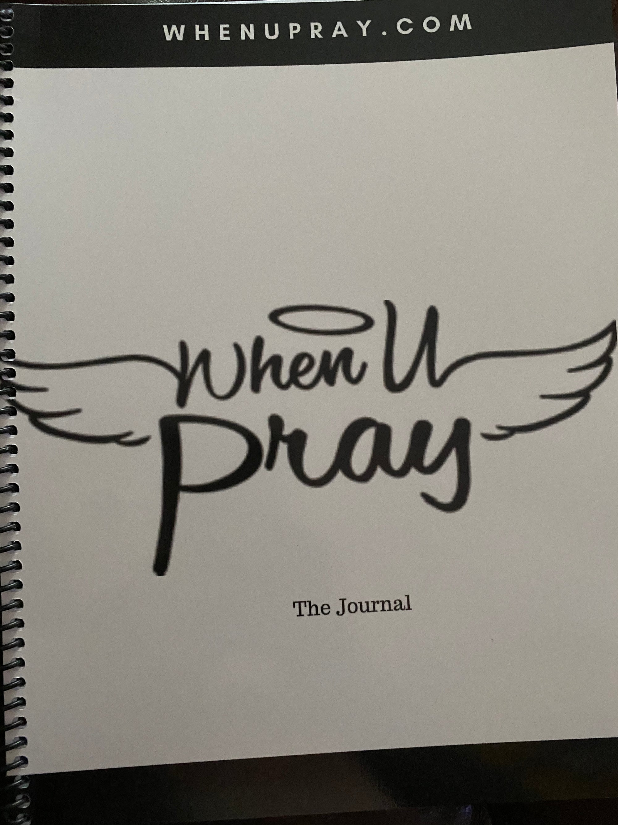 Image of Whenupray Journal