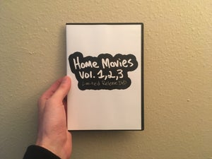 Image of Home Movies vol. 1, 2, 3 Limited Release DVD