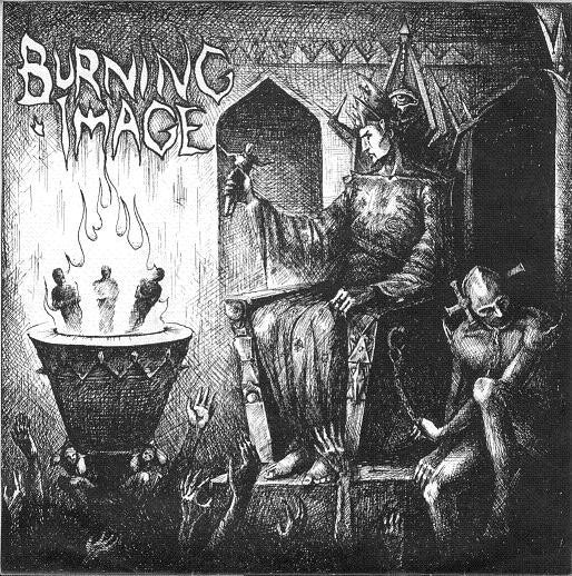 "Image of BURNING IMAGE - ""THE FINAL CONFLICT"" 7"""