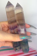 Image 1 of tall fluorite towers