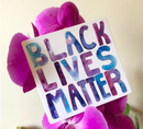 Image 2 of BLM Sticker (free with donation to Southern Fried Queer Pride)