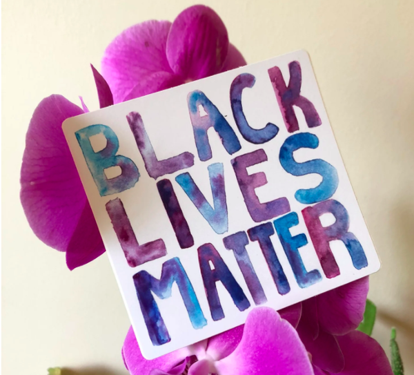 Image of BLM Sticker (free with donation to Southern Fried Queer Pride)