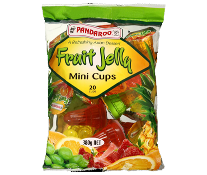 Image of Pandaroo Mini Jelly Cups 20S 380g