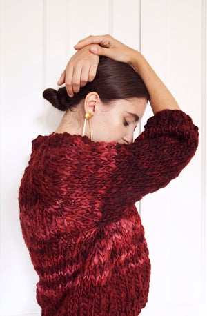 Image of Knitting Pattern - Strathcona Sweater