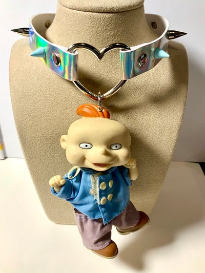 Image of Phil Rugrats Spiked Choker