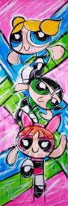 """The Girls of Powerpuffness"" Limited Edition Print"