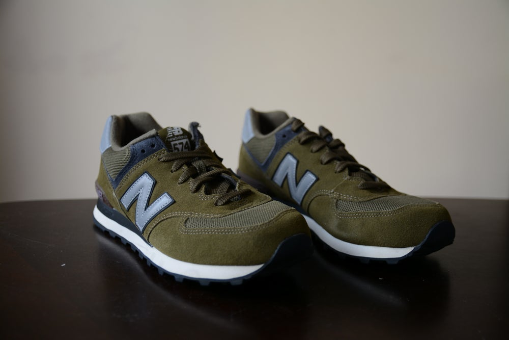 Image of New Balance 574 Army Green