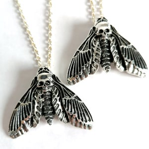 Image of Death's-Head Moth Pendant