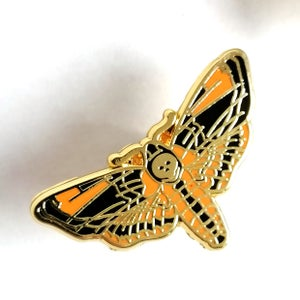 Image of Cute Moth Enamel Pin (assorted)