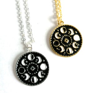 Image of Dainty Moon Phases Pendant