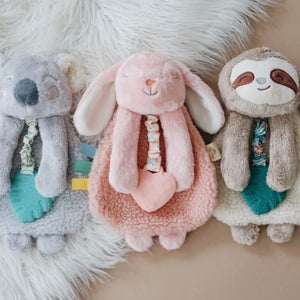 Image of BUNNY Itzy Lovey Plush & Teether Toy