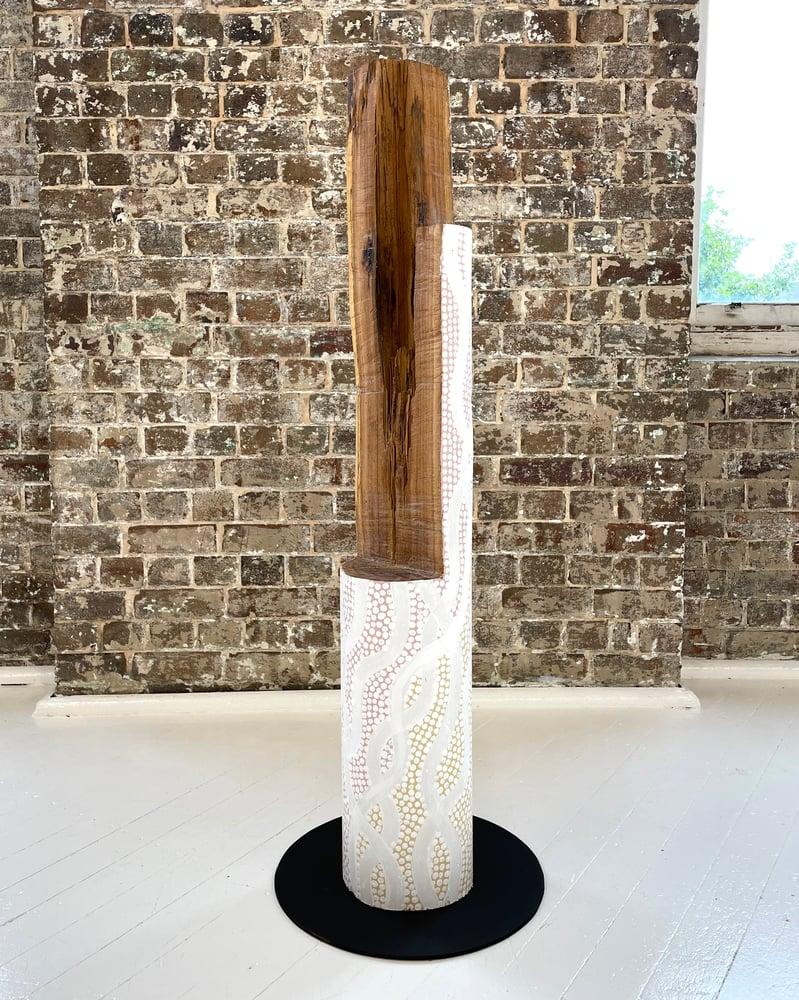Image of Otis Hope Carey 'Ngalunggirr miinggi - 55'. Original sculpture