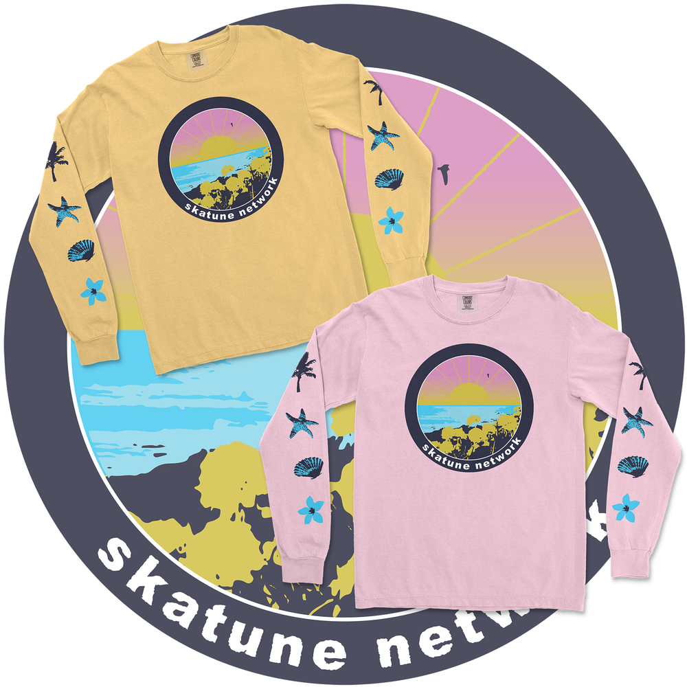 Image of OCEAN | Long Sleeves - Pink or Mustard