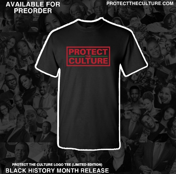 Image of Protect the Culture BHM Logo Tee (only 40 made)