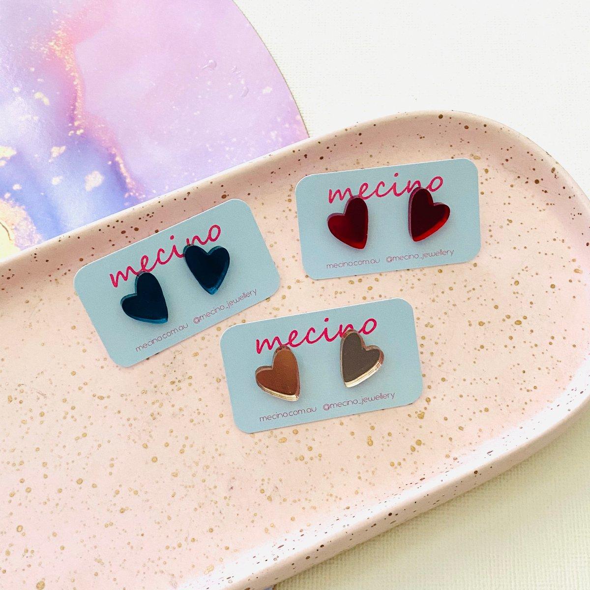 Image of Sweet Hearts - Mini - Mirrored Acrylic