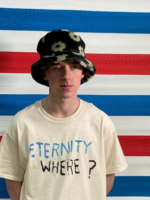 """Image of 'Eternity Where ?"""" Natural T-Shirt"""